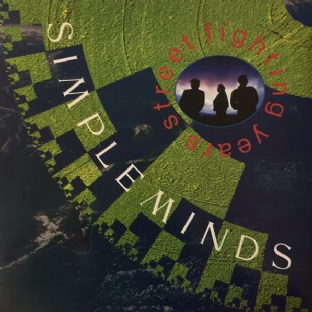 Simple Minds ‎- Street Fighting Years (LP) (VG-/VG+)